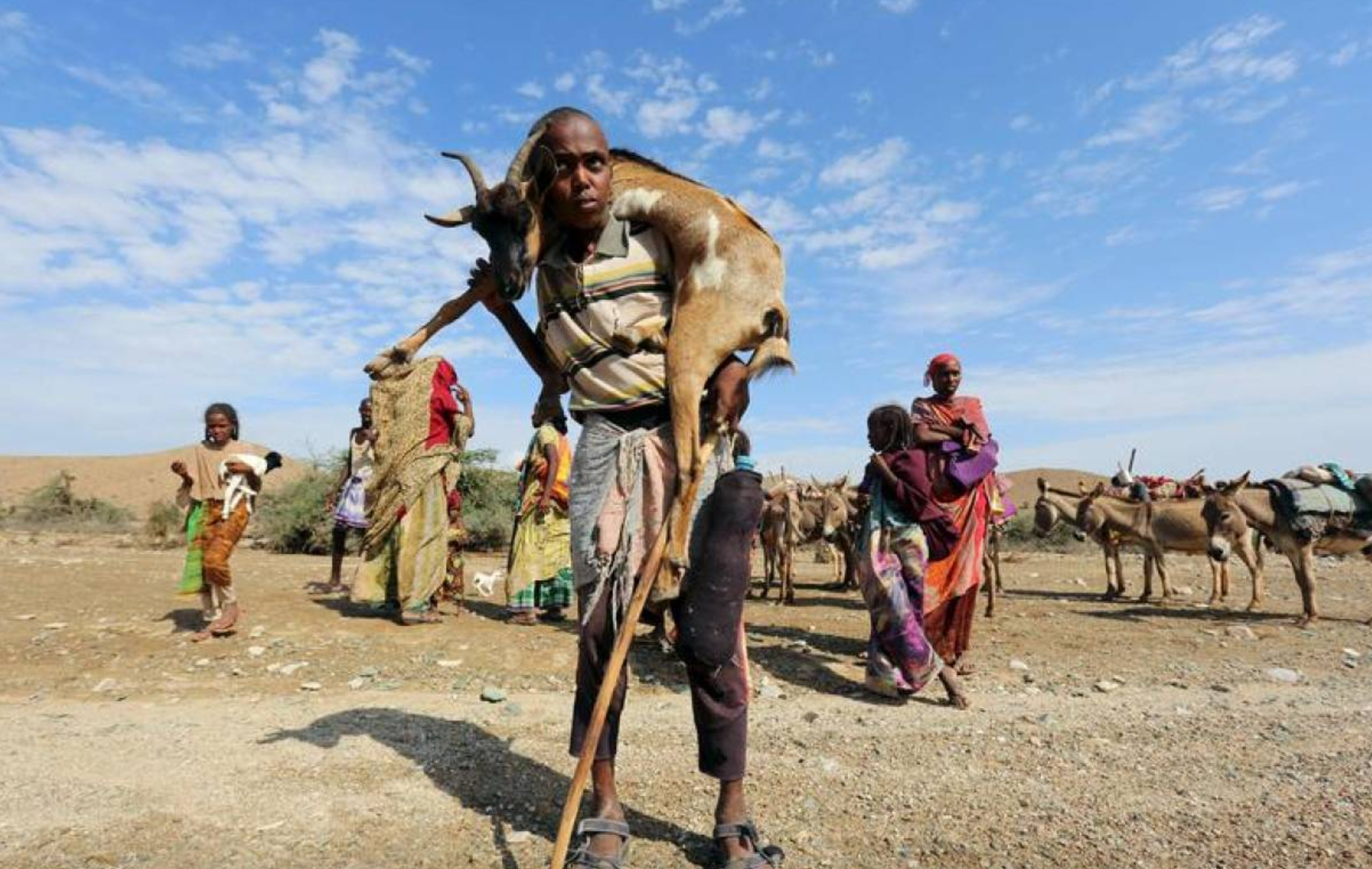U.N. Warns of Famine Risk in Somalia Amid Worsening Drought – Thomson Reuters Foundation (image)