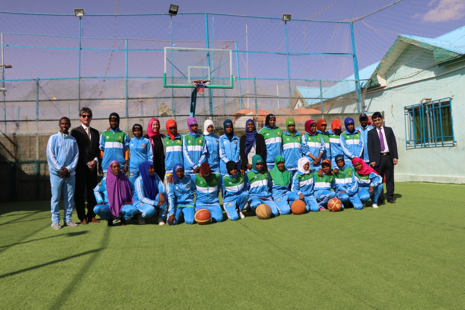 This girls basketball team wants to end female genital mutilation in Somalia – NowThis Her (image)