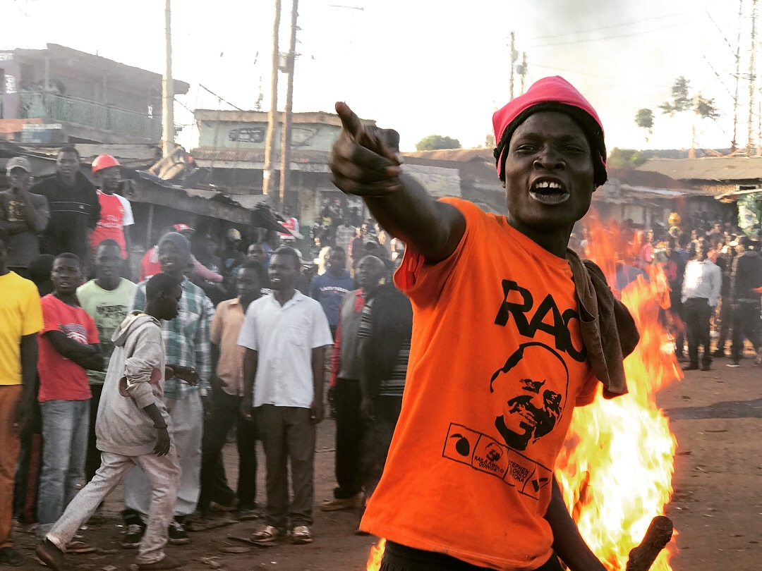 "Kenya has its own ""resistance"" after disputed election – VICE News (image)"