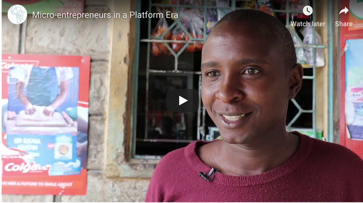 Understanding the platform practises of micro-entrepreneurs in Kenya: Mastercard Foundation (image)