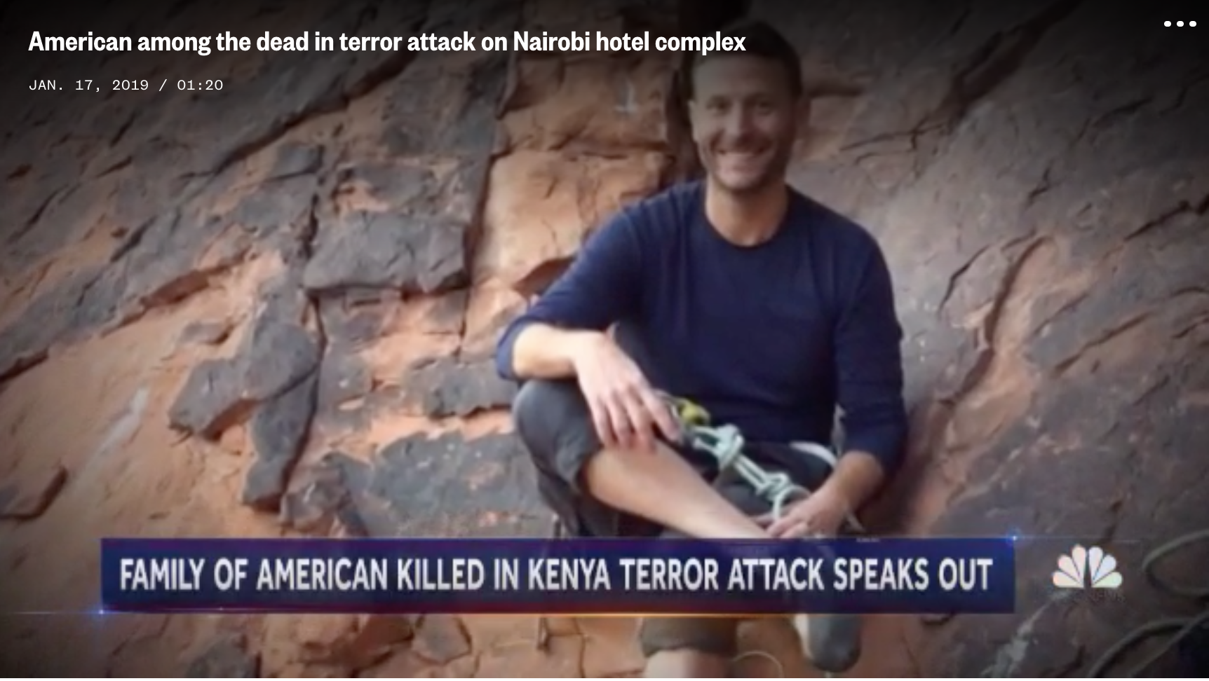 Death toll rises to 21 in attack on luxury hotel complex in Nairobi, Kenya – NBC News (image)
