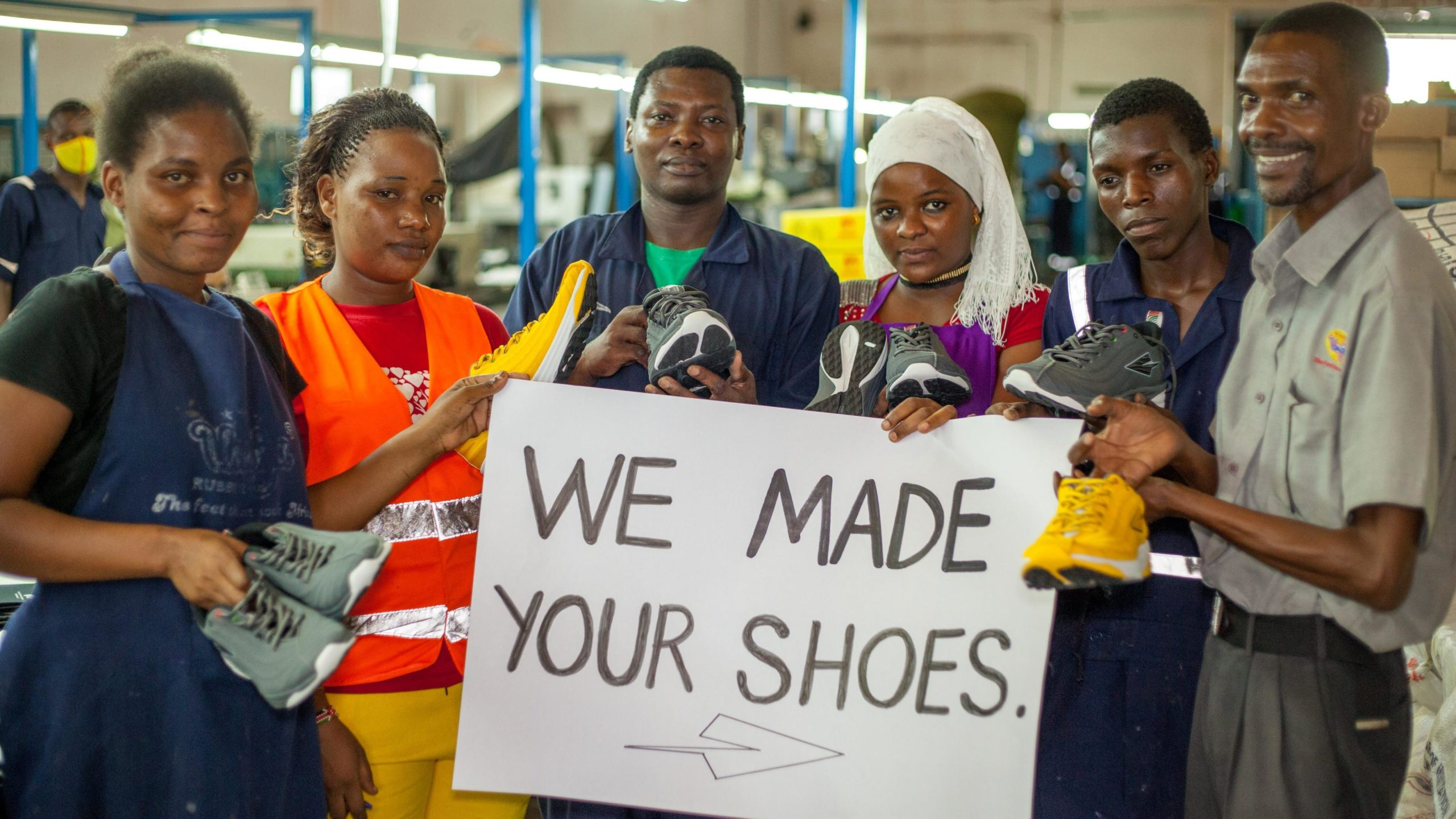 Kenya has world-class runners but investors have been hesitant to back locally-made running shoes – Quartz (image)