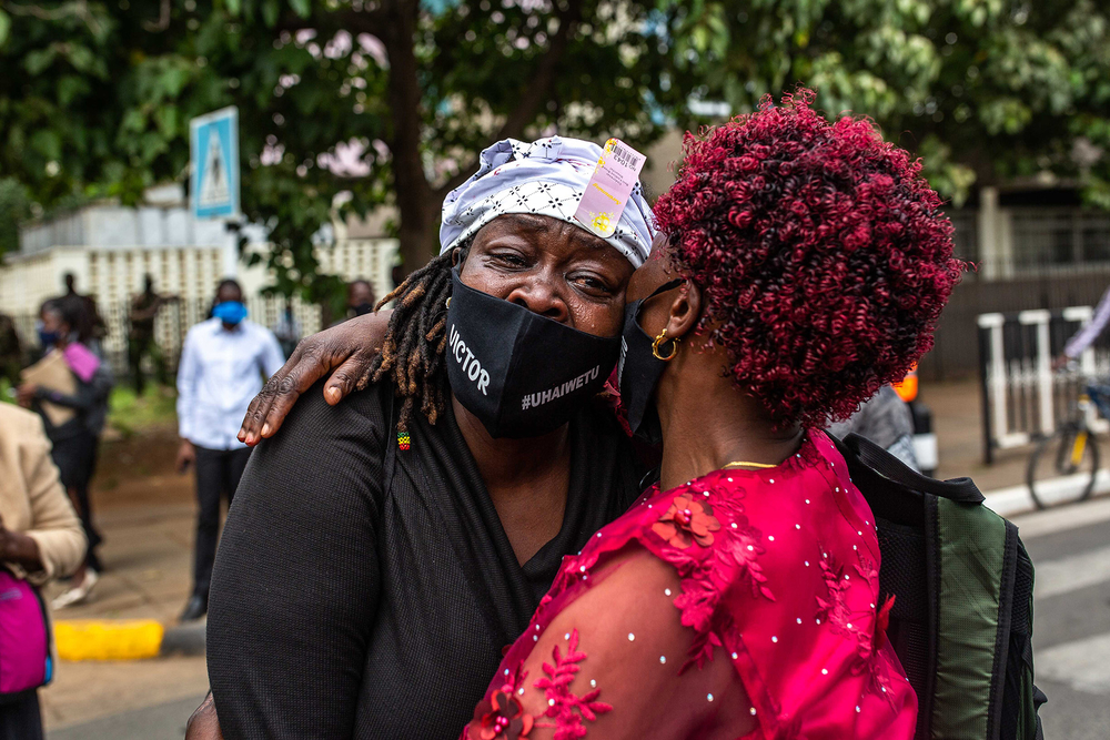 Mothers, sisters, wives: Kenyan women lead fight against police violence – The New Humanitarian (image)